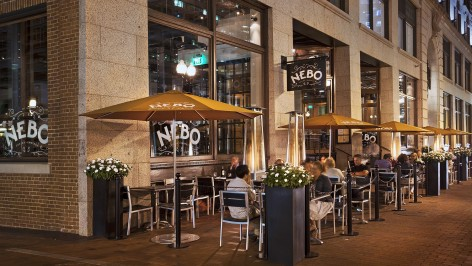 Nebo Restaurant Outdoor Seating Boston