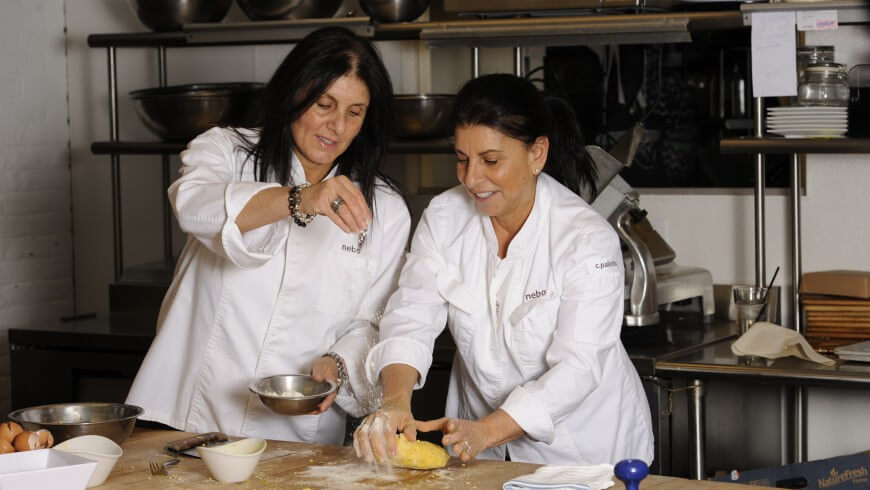 Pallotta Sisters Cooking